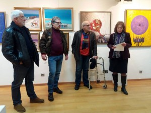 Pictorial expression, Lik Gallery, Sofia, 2019